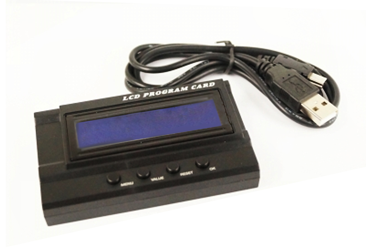 LCD Programmierbox für AMX brushless Regler