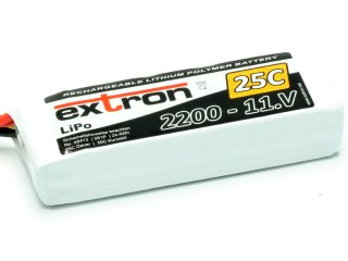 LiPo Akku Extron X2 2200 - 11,1V (25C   40C)