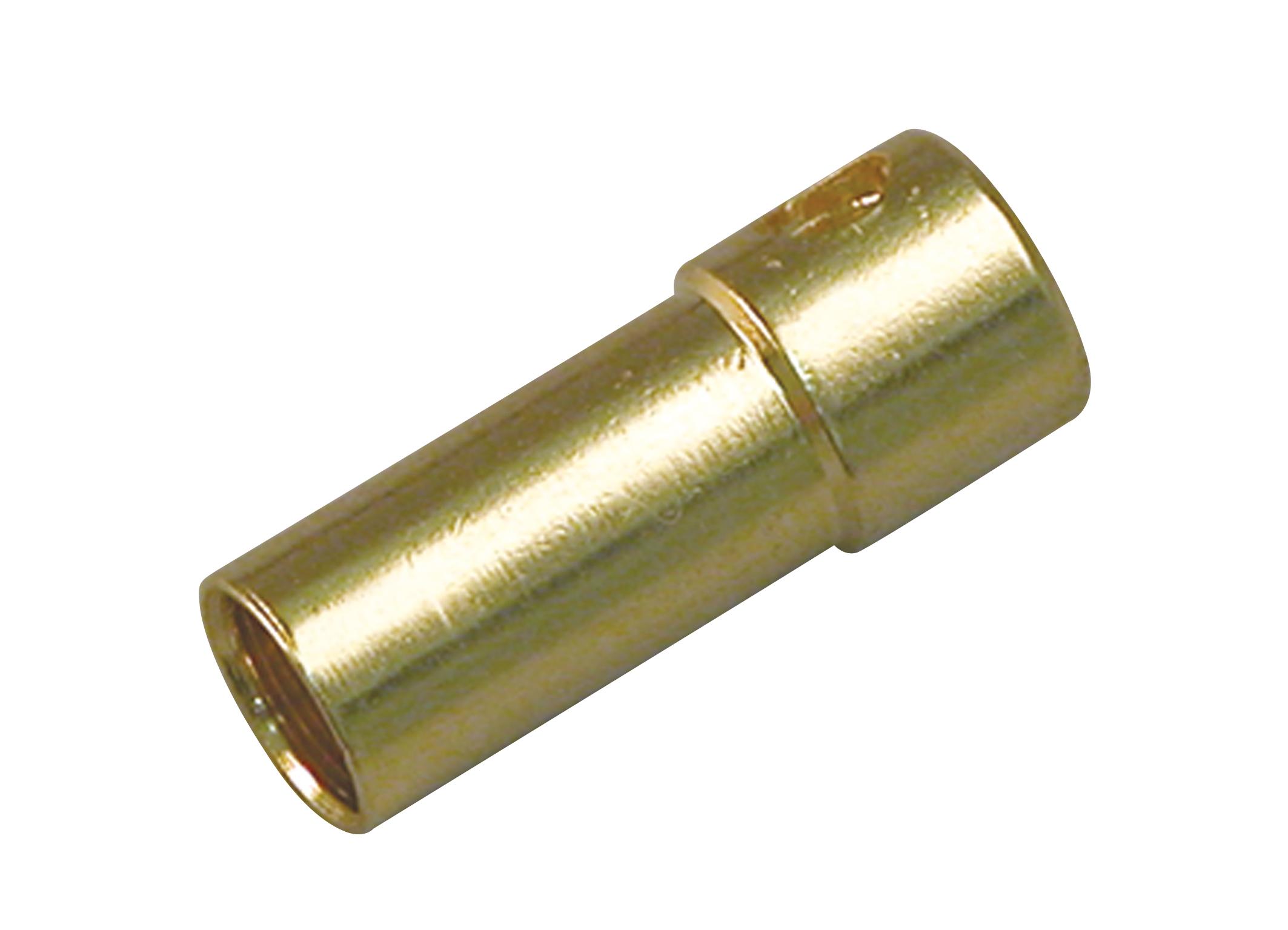 Multiplex 3,5mm Buchse (Gold) 3St.