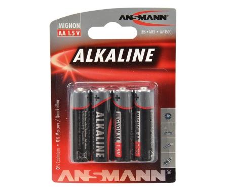 Batterie Set Mignon/AA 1,5V (4)