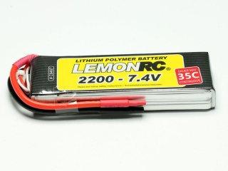 LiPo Akku LEMONRC 2200 - 7.4V (35C)