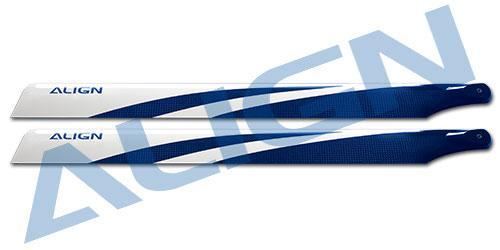 Align CFK Rotorblätter 380mm, blau