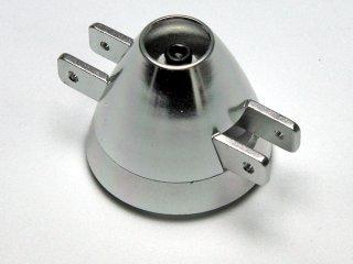 Alu Spinner TURBO mit Kühlluftöffnung Ø45mm / 3mm