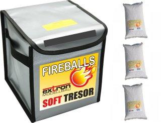 FIREBALLS Soft Tresor inkl. 3 x 1 Liter FIREBALLS