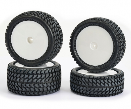 1:10 All Terrain 4WD Reifen-Set (4)