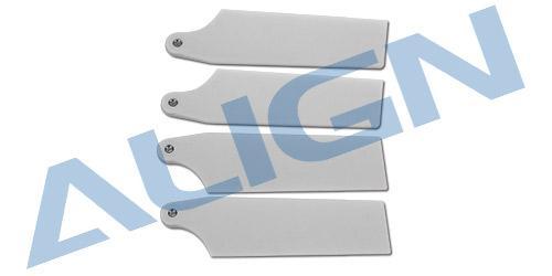 Align Heckrotorblätter 69mm, weiß, T-Rex 470L