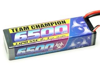 LiPo Akku Team Champion 6500 - 7,4V | 55C | Deans T