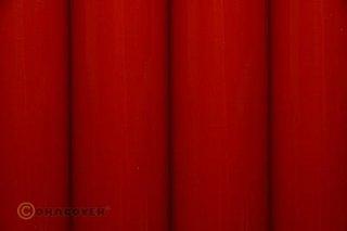 Bügelfolie Oracover ferrirot (2 Meter)