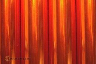 Bügelfolie Oracover transparent orange (2 Meter)