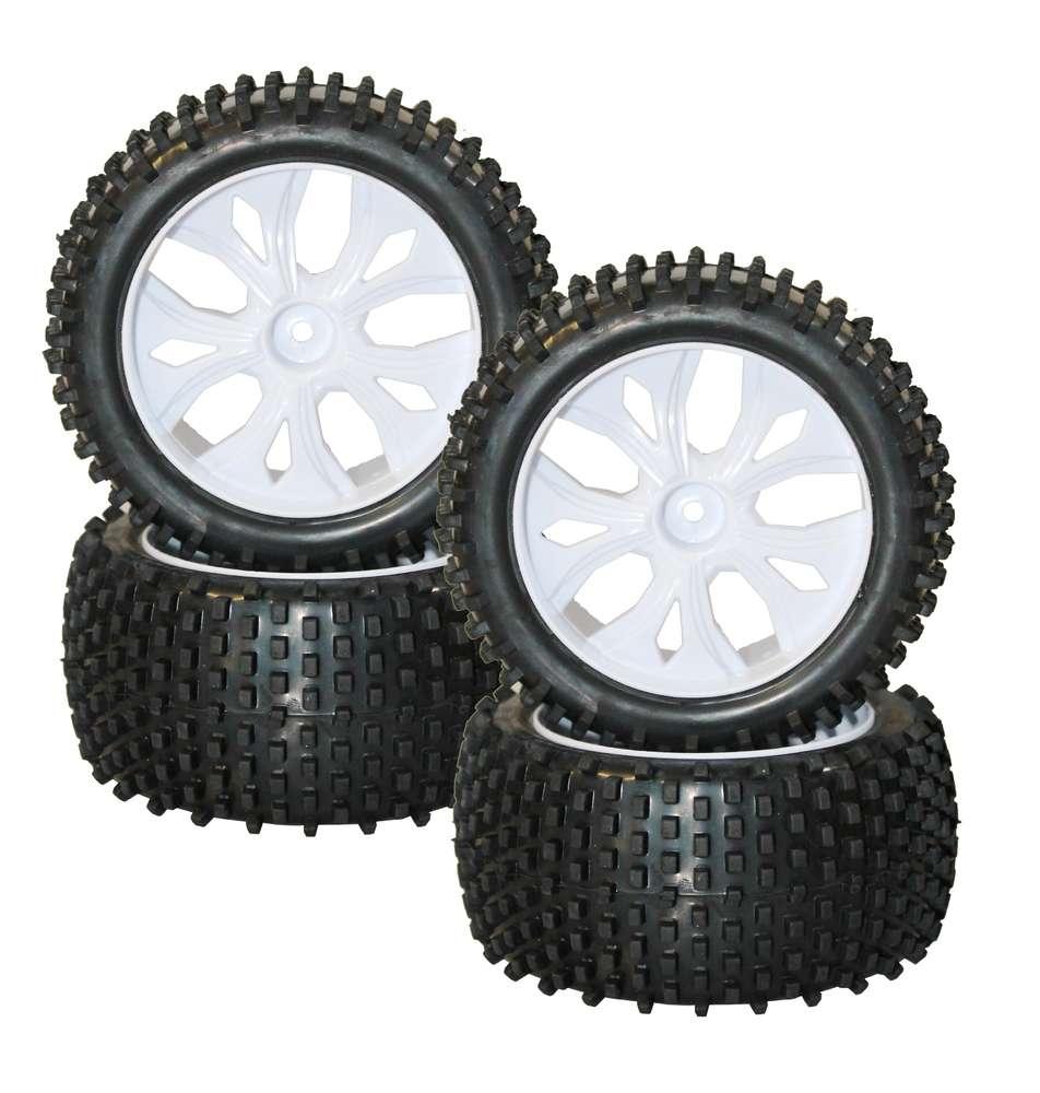 Radsatz mit Kunststofffelgen (4)