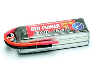 LiPo Akku RED POWER SLP 2700 - 11,1V