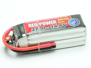 LiPo Akku RED POWER SLP 2700 - 14,8V