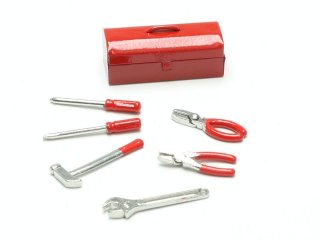 Werkzeugkiste 7-teilig