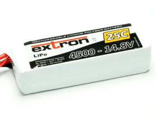 LiPo Akku Extron X2 4500 - 14,8V (25C | 50C)