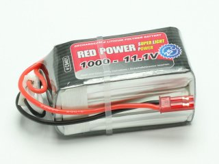 LiPo Akku RED POWER SLP 1000 - 11,1V