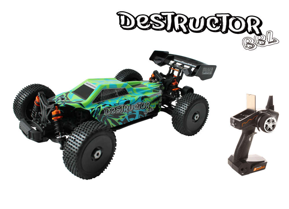 Destructor BBL - 1:8 Buggy brushless