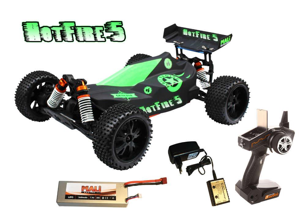 Hotfire Buggy, 1:10 Brushl./Metall. RTR-waterproof