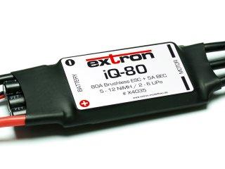 Extron Brushless Regler iQ-80