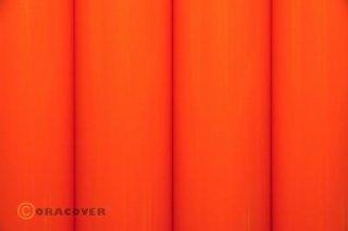 Bügelfolie Oracover orange (2 Meter)
