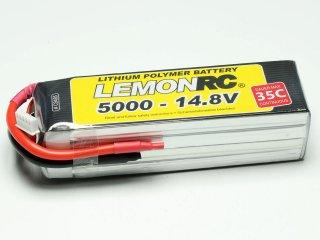 LiPo Akku LEMONRC 5000 - 14.8V (35C)