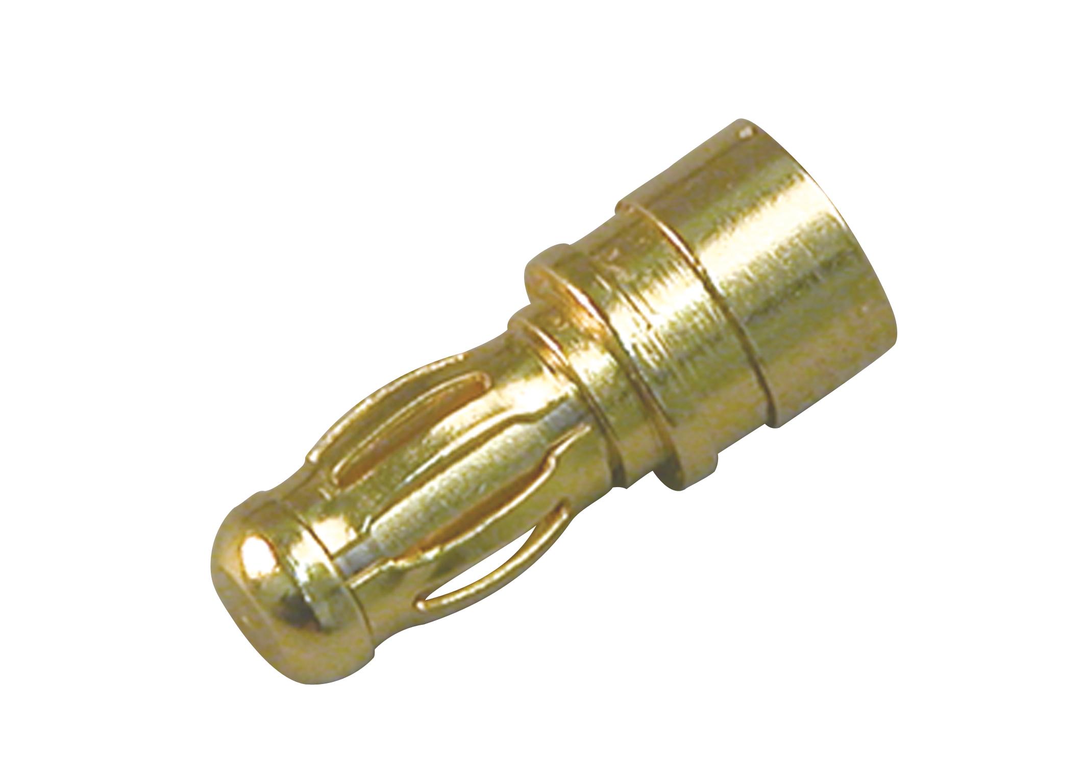 Multiplex 3,5mm Stecker (Gold) 3St.
