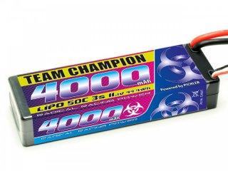 LiPo Akku Team Champion 4000 - 11,1V | 55C | Deans T