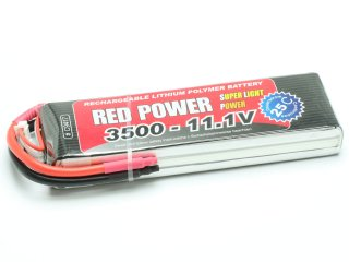 LiPo Akku RED POWER SLP 3500 - 11,1V