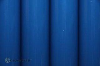 Bügelfolie Oracover blau (2 Meter)