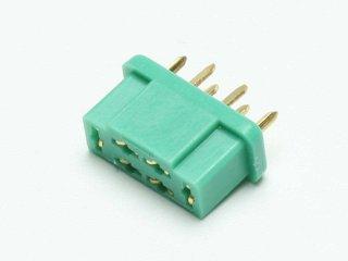 Buchse MPX 6-pol grün (VE=5St.) Artikelnummer: C1596